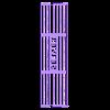 custom_antecs_nsk2400_slot_cover-coverslot.stl Télécharger fichier STL gratuit Couvercle de ventilation à fente NSK2400 de Custom Antec • Design pour impression 3D, francoispolito