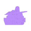 STAR_WARS_ZEBRA_NEW_RELOJ.STL Download free STL file STAR WARS LOGO STENCIL • 3D printing model, 3dlito