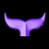 Whale Tail_1.stl Download free OBJ file Whale Tail 1 • Model to 3D print, h3ydari96