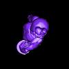 bunnydavewithkitty_upper.stl Télécharger fichier STL gratuit Bunny Dave avec Kitty • Modèle pour impression 3D, Revalia6D