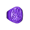 elephantring.stl Download free STL file Elephant ring Jewelry 3D print model • 3D printing template, Cadagency