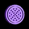 grinder con guardafiltro patron.STL Télécharger fichier STL BROYEUR DE MAUVAISES HERBES + FILTRES DE SAUVEGARDE DES MAUVAISES HERBES • Objet à imprimer en 3D, SnakeCreations