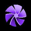 NEMA_Extruder_rotation_indicator_Turbine.stl Télécharger fichier STL gratuit Indicateur de rotation du moteur de l'extrudeuse (Prusa i3 MK2/MK2S/MK3) • Plan pour impression 3D, petclaud