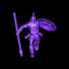 Spartan_Jump_1_-_35_mm.stl Télécharger fichier STL gratuit Spartans jump - Miniature 28mm 35mm 50mm • Plan pour impression 3D, BODY3D