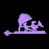 Girouette.stl Download free STL file Weather vane • 3D printable object, Nitsoh