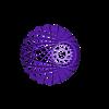 LamparaModerna2.stl Download free STL file Ceiling light • 3D printing design, alonsoro767