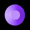 Button in.stl Télécharger fichier STL gratuit Lampe LED RGB • Objet à imprimer en 3D, dukedoks