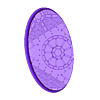 Oval_60x35mm_base_INDR_01.stl Download free STL file Sci-fi industrial bases all sizes all shapes • 3D printing template, Alario