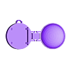 pocket_watch_pebble_time_part1.stl Download free STL file Pocket Watch for Pebble Time • 3D printing object, Vishell