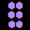Mini_Bases_symbols_part4.stl Télécharger fichier STL gratuit Bases Collection _Symboles • Design à imprimer en 3D, 3D-mon