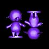 ellie_split.stl Download free STL file Tia and Ellie - Animal Crossing • 3D printable model, skelei
