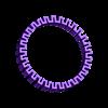 Z_Bracelet.stl Télécharger fichier STL gratuit Bracelet en Z • Objet à imprimer en 3D, Zortrax
