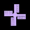 NEMA_Extruder_motor_rotation_indicator_Windmill.stl Télécharger fichier STL gratuit Indicateur de rotation du moteur NEMA (extrudeuse) (Prusa MK2(S)/MK2.5/MK3/MMMU2) • Modèle à imprimer en 3D, petclaud