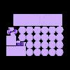 BeastBody_EveryPiece_v2.stl Télécharger fichier STL gratuit Beast Belly : Jeu des fractions • Plan imprimable en 3D, Boastcott