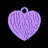 the_beatles_all_we_need_is_love.stl Télécharger fichier STL gratuit les Beatles tout ce qu'il nous faut c'est un porte-clés d'amour • Objet pour impression 3D, shuranikishin