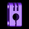 12mm_mount_clamp_captive_nuts.STL Télécharger fichier STL gratuit GoPro 360 Support de rotor • Objet pour impression 3D, daGHIZmo