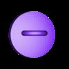 1UP_modular_dot_5_with_hanger.stl Download free STL file Super Mario Mushroom 1UP Hanger (Dual & Modular Single Extrusion) • 3D printable design, Runstone