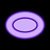 MagFishRound_plug.STL Télécharger fichier STL gratuit Poisson magnétique rond • Design pour imprimante 3D, Cerragh