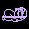 BM2.stl Download STL file BABY COOKIE CUTTER • 3D printable model, SinTiempoLibre