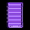 18650_6P_base_V2.stl Télécharger fichier STL gratuit NESE, le module V2 sans soudure 18650 (FERMÉ) • Objet pour imprimante 3D, 18650
