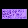 litomarvel.stl Télécharger fichier STL gratuit Merveilleux logo litofania • Plan imprimable en 3D, 3dlito