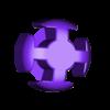 OctaV0dot3mm.stl Download free STL file Make Your Own Platonic Octahedron, Snap • Model to 3D print, LGBU