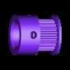 spool_clock_pulley2.stl Télécharger fichier STL gratuit Horloge à bobine à filament • Design pour imprimante 3D, marigu