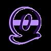 Q.stl Download STL file sharp letters Cooper Black • 3D printing model, juanchininaiara
