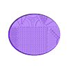 Oval_120x92mm_base_INDR_01.stl Download free STL file Sci-fi industrial bases all sizes all shapes • 3D printing template, Alario