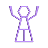CR10S_SS_a.stl Télécharger fichier STL gratuit Support de la bobine CR10S • Plan à imprimer en 3D, hsiehty