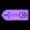 armbar-nishe-sword-skull2.stl Télécharger fichier STL gratuit Sci-fi bunker bunker bunker 28mm • Design pour impression 3D, Terrain4Print