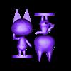 rosie split.stl Télécharger fichier STL gratuit Chat de passage • Objet pour imprimante 3D, skelei