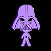 Earphone Darth.stl Télécharger fichier STL gratuit Porte-écouteurs Star Wars • Design pour impression 3D, CheesmondN