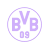 BVB.stl Download free STL file BVB ornament, fan deko • Template to 3D print, TimBauer-TB3Dprint