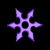Shuriken.stl Télécharger fichier GCODE Shuriken • Plan pour imprimante 3D, Gabbi_Card