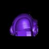 visorMask.AngledFlatBase.stl Télécharger fichier STL gratuit Le casque Daft Punk de Thomas Bangalter • Design pour imprimante 3D, AlbertKhan3D