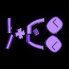 Black - Parts.stl Télécharger fichier STL Jouer à Gary - Imprimer un Toons • Modèle à imprimer en 3D, neil3dprints