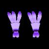 izbushka_legs.stl Download STL file Baba Yaga House • Model to 3D print, EliGreen