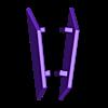 37_Drag_Waist10_TailSide_GREEN.stl Download STL file ARTICULATED DRAGONLORD (not Dragonzord) - NO SUPPORT • 3D printer model, Toymakr3D