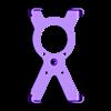 soporte_x_para_carcasa_de_celular_nokia_1020.stl Télécharger fichier STL gratuit Estuche, funda protectora Nokia Lumia 1020, con sistema articulado • Design pour imprimante 3D, saginau