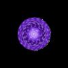 voronoi_pawn_3xM8.stl Download free STL file 3xM8: Voronoi Chess Set with inlets for 3 x M8 Nuts • 3D printable design, Numbmond