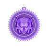 Brahma pendant jewelry medallion.stl Download free STL file Brahma pendant jewelry medallion • 3D printable design, Cadagency