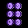 Opportunity_Wheel_6_pack_MCEDIT.stl Télécharger fichier STL gratuit Mars Rover : Opportunité - Remix • Objet pour imprimante 3D, Odrenria