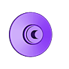Faucet_wall_plate.stl Télécharger fichier STL gratuit Robinet magique • Objet pour impression 3D, Hazon_Maker