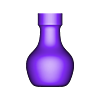 bulb_3.stl Download free STL file Vase, squeeze bottle thingie and nozzles • 3D printable model, Thomllama