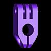 12mm_mount_clamp.STL Télécharger fichier STL gratuit GoPro 360 Support de rotor • Objet pour impression 3D, daGHIZmo