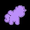 UNICORNIO.STL Télécharger fichier STL gratuit KIT de 5 moules à biscuits Unicorn • Modèle imprimable en 3D, icepro10