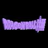Logo_Dbz_Super.stl Télécharger fichier STL gratuit Logo Dragon Ball Super • Design imprimable en 3D, BODY3D