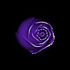 rose_close_v2.stl Télécharger fichier STL gratuit Roses d'anniversaire • Objet imprimable en 3D, XYZWorkshop