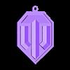 Wot_Keychain.STL Télécharger fichier STL gratuit Porte-clés et trophée du Monde des chars • Design pour imprimante 3D, Foxeddy